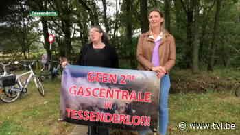 Protest tegen mogelijke komst gascentrale in Tessenderlo - TV Limburg
