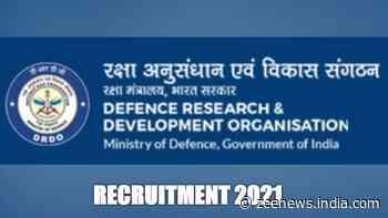DRDO Recruitment: DIPAS, CAIR invite applications for RAs, JRFs, check details here