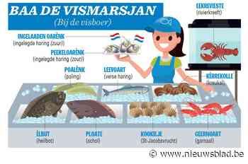 Wat eten we vandaag? Vis! Perfesser Gents brengt ons 'baa de vismarsjan' - Het Nieuwsblad