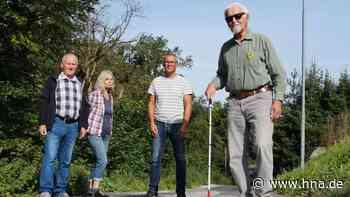 Straße in Schenklengsfeld wird zur Stolperfalle für Sehbehinderte - HNA.de