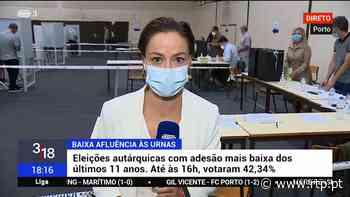 Votação a decorrer com normalidade no Porto - RTP