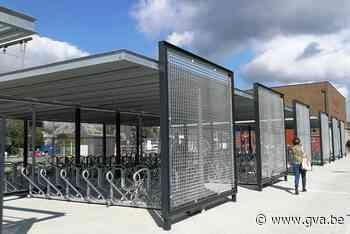 Nieuwe fietsenstalling klaar voor gebruik (Herentals) - Gazet van Antwerpen