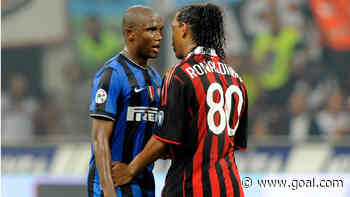 Eto'o's haul at Inter Milan equaled by Martinez