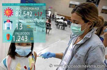Coronavirus en Navarra: sin ingresos ni muertes en un día con 17 casos - Noticias de Navarra