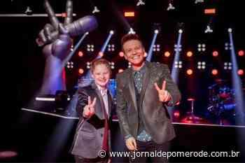 Vídeo: Catarinense Gustavo Bardim é campeão do The Voice Kids 2021 - Jornal de Pomerode