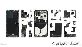 iPhone 13 Pro Teardown Reveals Battery Capacity, Confirms Qualcomm X60 5G Modem