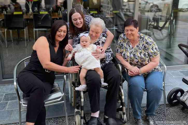 93-jarige Sussana heeft met kleine Alizée al tweede achterkleindochter