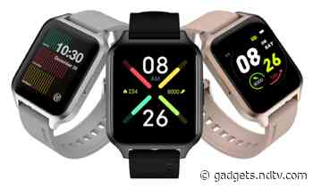 Noise ColorFit Brio Smartwatch With 50 Sports Modes, 10-Day Battery Life Launched in India