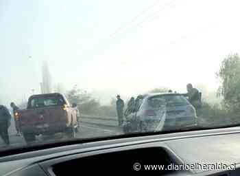 Colbún: Un lesionado grave en colisión de camión y vehículo menor - Diario El Heraldo Linares
