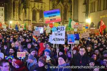 AfD in Münster mit schlechtestem Ergebnis bundesweit