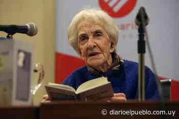 """Ida Vitale presentó """"Tiempo sin claves"""", su nuevo poemario - El Pueblo de Salto"""