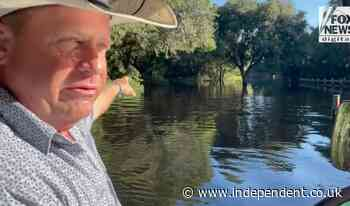 Rancher says there's 'no surviving' alligator-infested swampland where Brian Laundrie said he was going hiking