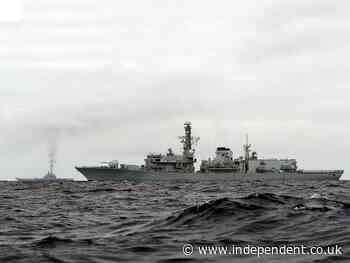 China condemns 'evil intentions' of UK warship passing through Taiwan Strait