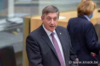 Hoe een optimistische Jambon zijn geplaagde Vlaamse regering een nieuwe schwung wil geven