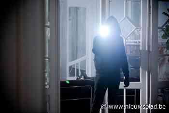 Inbrekers doorzoeken huizen
