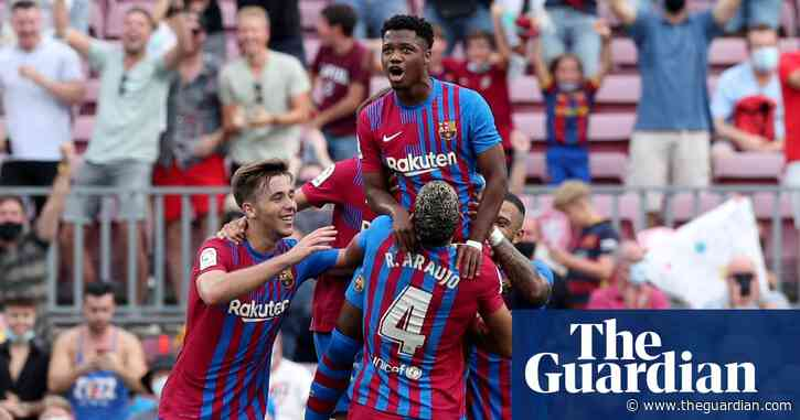 Barcelona rediscover Ansu Fati – and hope – when they most need to | Sid Lowe