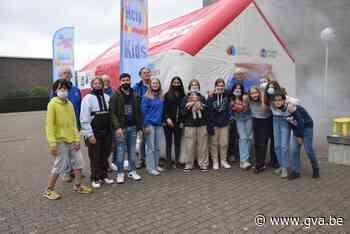 Help Brandwondenkids bezoekt Campus Het Spoor (Mol) - Gazet van Antwerpen