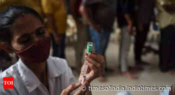 Coronavirus live updates: More than 99.3 lakh Covid vaccine doses administered today - Times of India