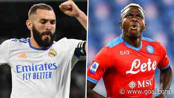 Napoli star Osimhen matches Benzema's scoring tally for September