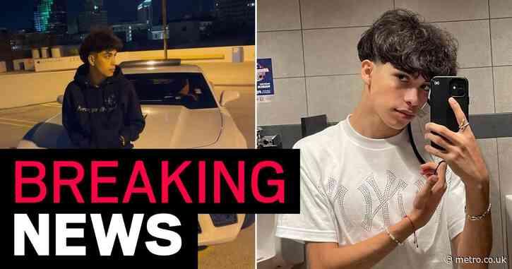 TikToker Gabriel Salazar 'dies aged 19 following car crash' as devastated friends pay tribute