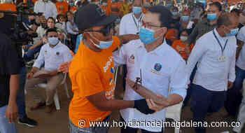 Sitionuevo participó de la segunda parada de las 'Ferias de la Equidad' - HOY DIARIO DEL MAGDALENA
