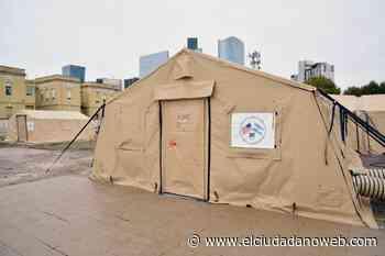 Por disminución de casos de coronavirus desocupan un hospital militar montado en Santa Fe - El Ciudadano & La Gente