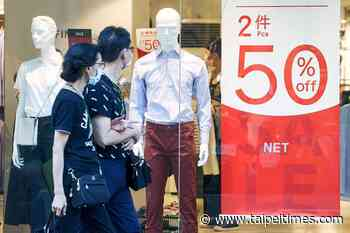Consumer confidence slips due to lack of jobs - 台北時報