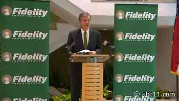 Gov. Roy Cooper, Fidelity Investments to detail hundreds of new jobs at Research Triangle Park - WTVD-TV