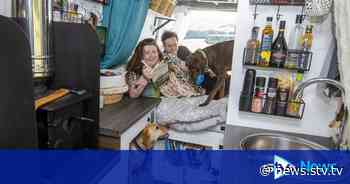 Couple quit jobs and sell house to tour Scotland in campervan - STV News