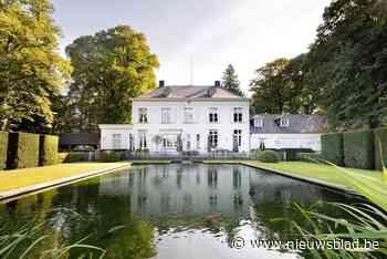 Bergenhof, een van mooiste domeinen van Zandhoven, staat te koop voor bijna 3 miljoen
