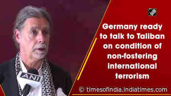 Germany ready to talk to Taliban on condition of non-fostering international terrorism