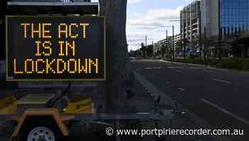 Canberra's path out of lockdown revealed | The Recorder | Port Pirie, SA - The Recorder