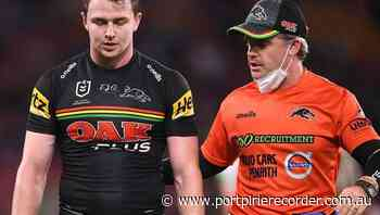Edwards adds to Panthers' GF injury fears | The Recorder | Port Pirie, SA - The Recorder
