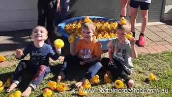 Kids excited to race ducks | The Recorder | Port Pirie, SA - The Recorder
