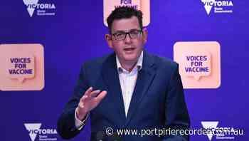 Cash to hasten Vic COVID-19 vaccine push | The Recorder | Port Pirie, SA - The Recorder