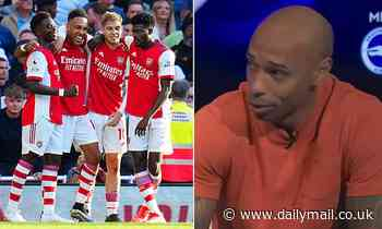 Thierry Henry insists he was 'not surprised' by Arsenal's performance against Tottenham