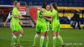 DFB-Pokal Frauen: Wolfsburg kämpft sich nach Rückstand ins Achtelfinale - Sky Sport