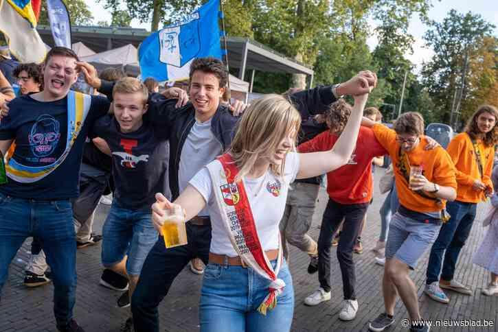 """10.000 Antwerpse studenten trappen academiejaar af met festival: """"Dit doet enorm veel deugd"""""""