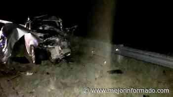 Viajaba de Bariloche a Buenos Aires y se mató en La Pampa - Mejor Informado