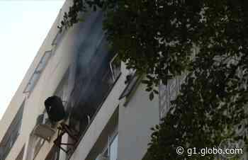 Incêndio atinge apartamento em Ipanema - G1