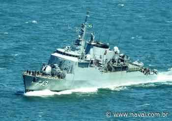 IMAGENS: Fragata Liberal - F43 chegando ao Rio de Janeiro - Poder Naval