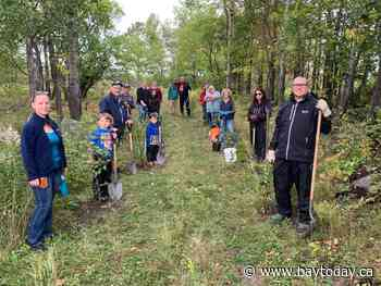Community channel exchanges remotes for tree planting shovels