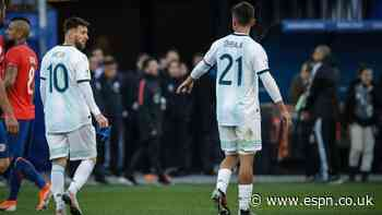 Messi, Dybala on Argentina squad amid injuries