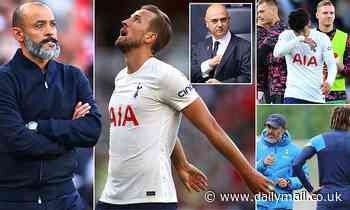 How it's all gone Spursy... doubts over style, the Kane conundrum and three defeats on the bounce