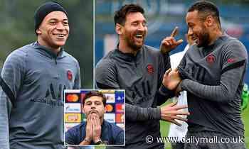 PSG boss Mauricio Pochettino is struggling to juggle Lionel Messi, Neymar and Kylian Mbappe