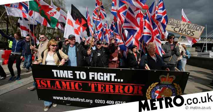Far-right group Britain First registers as political party after nine attempts