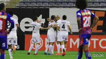 Omar Merlo anotó de cabeza el 1-0 de Sporting Cristal ante Alianza Universidad por la Liga 1 Betsson - RPP Noticias
