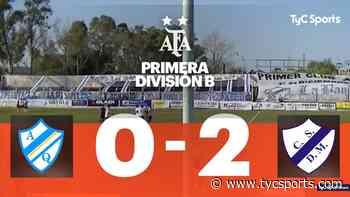 Dep. Merlo le ganó como visitante a Arg. de Quilmes por 2 a 0 - TyC Sports