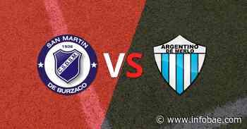 Argentino de Merlo le ganó como visitante a San Martín Burzaco por 2 a 0 - infobae
