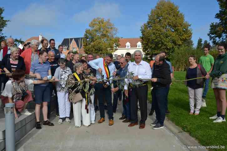 Groene buurtsite OC De Kommalier geopend